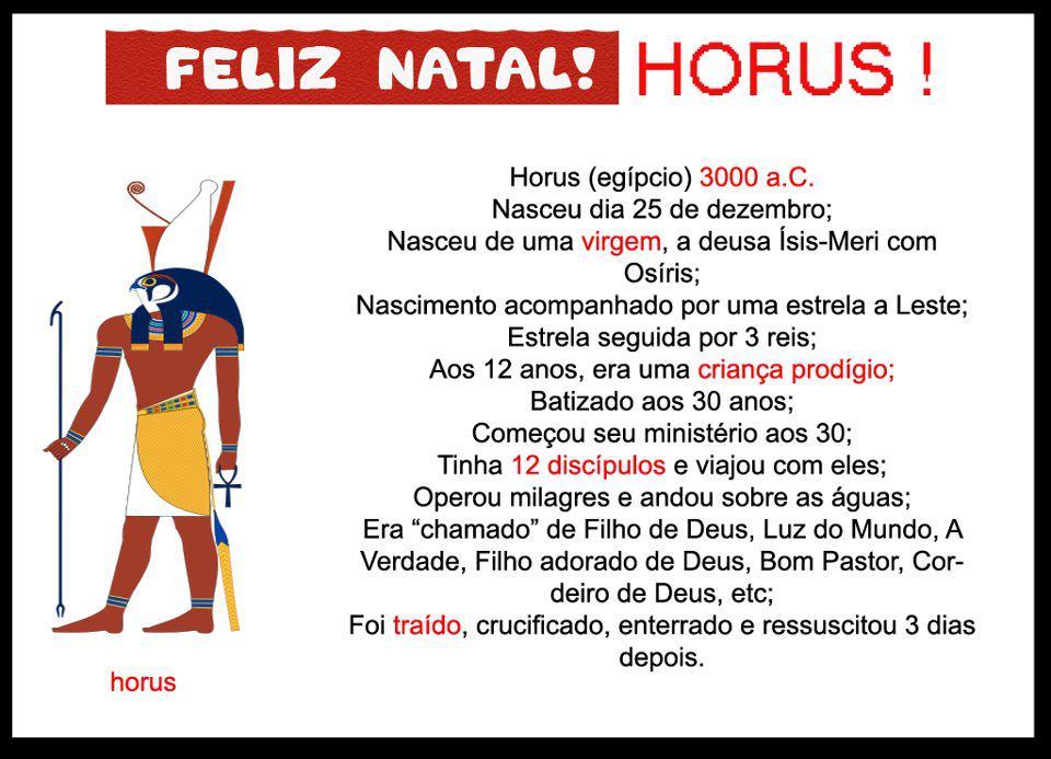 hórus x jesus um estupro à mitologia egípcia ocultismo e caminho